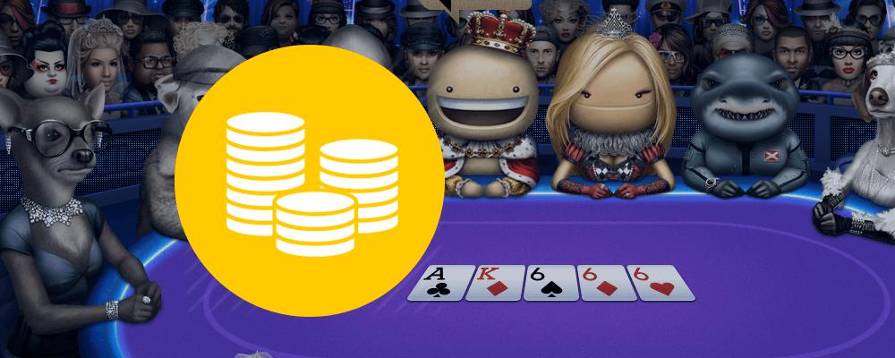Где играть в покер на виртуальные деньги?