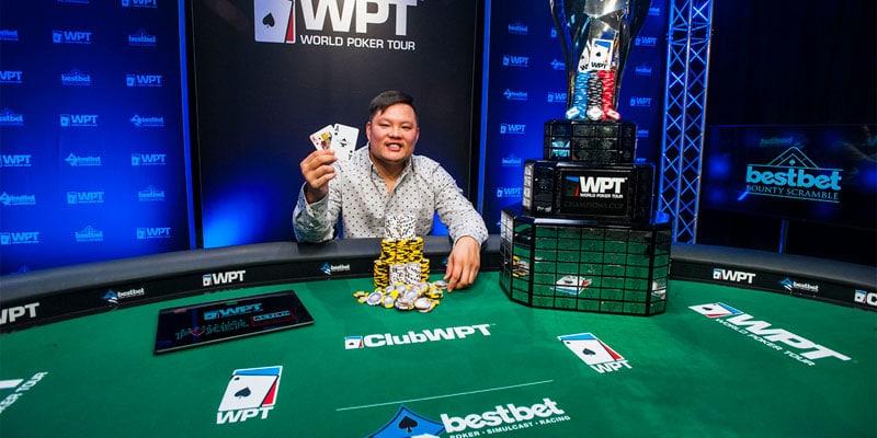 Тони Тран выиграл покерный турнир WPT